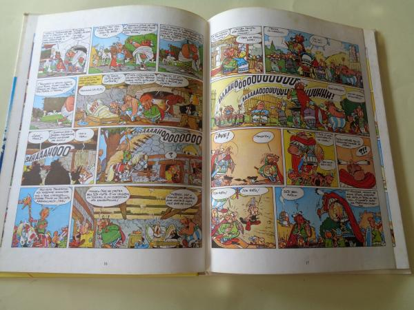 A loita dos xefes. Unha aventura de Asterix