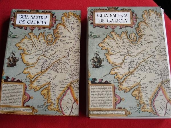 Guía náutica de Galicia. LIBRO + ESTOXO COAS CARTAS NAÚTICAS DE GALICIA. Texto en español