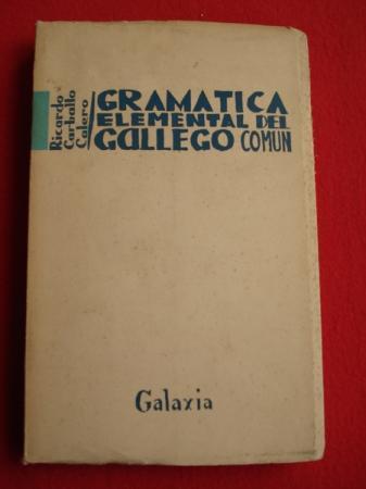 Gramática elemental del gallego común