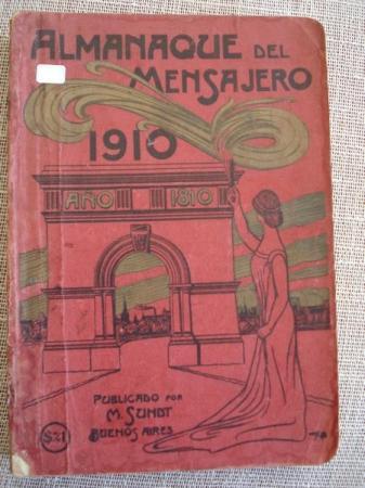 Almanaque del mensajero 1910