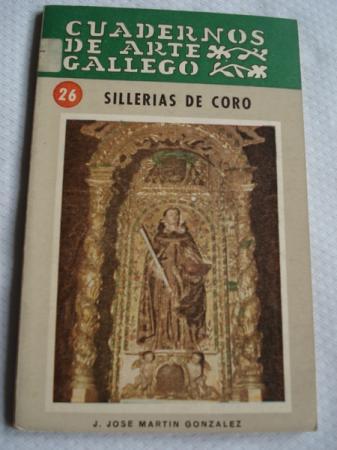 Sillerías de coro. Cuadernos de Arte Gallego, nº 26