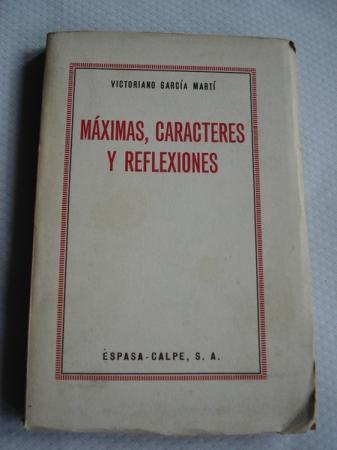 Máximas, caracteres y reflexiones