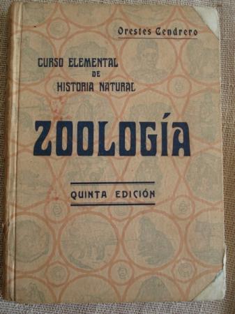 Zoología. Curso elemental de Historia Natural