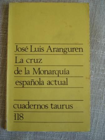 La cruz de la Monarquía española actual