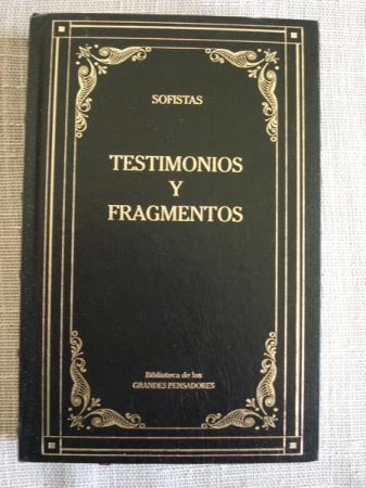 Testimonios y fragmentos