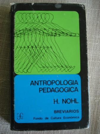 Antropología pedagógica