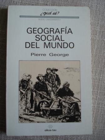 Geografía social del Mundo
