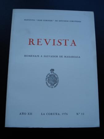 Revista Instituto José Cornide de Estudios Coruñeses, Núm.12 - Homenaje a Salvador de Madariaga