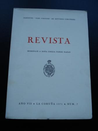 "Revista Instituto ""José Cornide"" de Estudios Coruñeses. Núm.7"