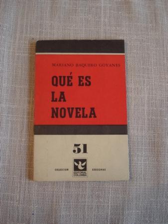 Qué es la novela