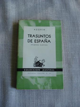 Trasuntos de España (Páginas electas)
