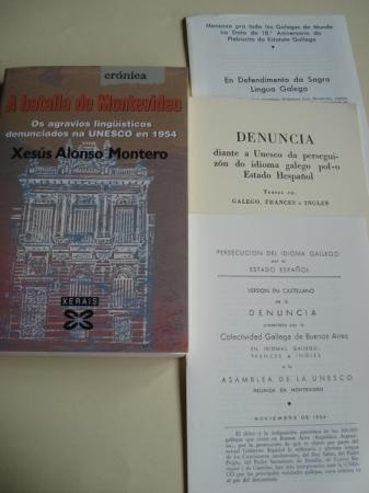 A batalla de Montevideo. Os agravios lingüísticos denunciados na UNESCO  en 1954