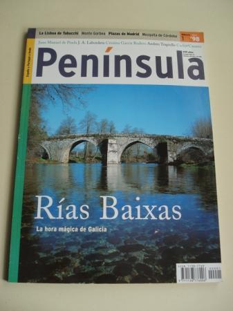 Revista PENÍNSULA. NÚMERO 1 - ABRIL, 1998. RÍAS BAIXAS. LA HORA MÁGICA DE GALICIA