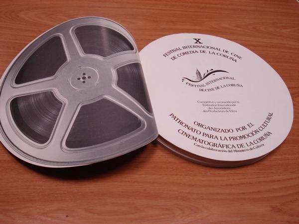 Programa de X Festival Internacional de Cine de Comedia de La Coruña. Con fichas de películas