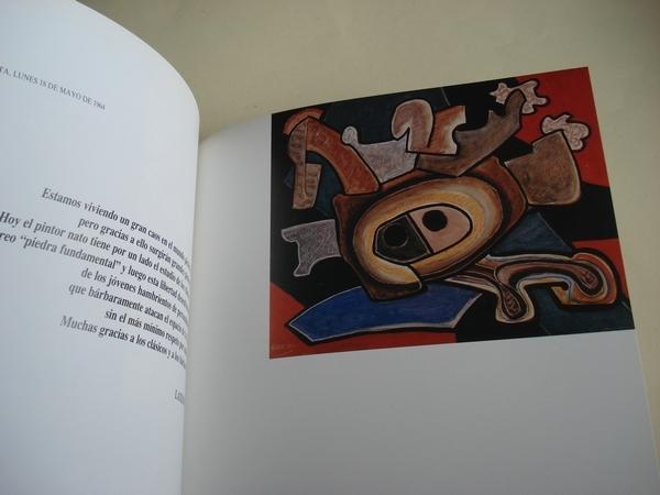 Laxeiro en Argentina (1952-1970). Catálogo Exposición Kiosko Alfonso, A Coruña, 1988