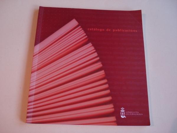 Catálogo de publicacións do Consello da Cultura Galega