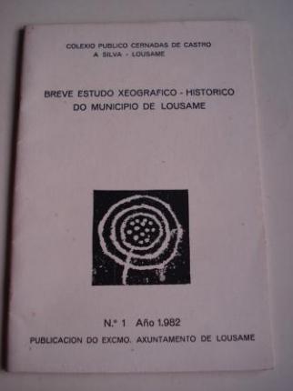 Breve estudo xeográfico-histórico do municipio de Lousame. Nº 1 - 1982  - Ver os detalles do produto