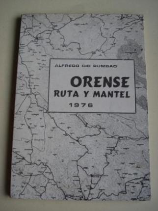 Orense. Ruta y mantel 1976 - Ver os detalles do produto