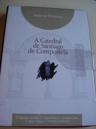 A catedral de Santiago de Compostela. Material Didáctico: Libro + 66 diapositivas en color - Ver os detalles do produto