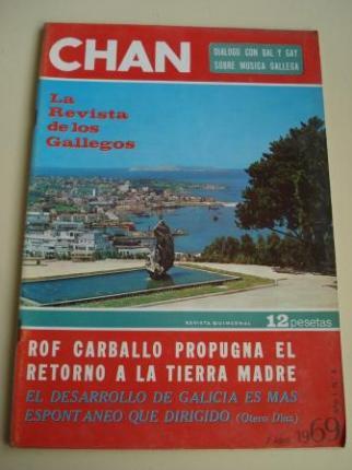 Revista CHAN. La Revista de los Gallegos. Revista Quincenal. 7 de abril de 1969. Año I. Nº 4 - Ver os detalles do produto