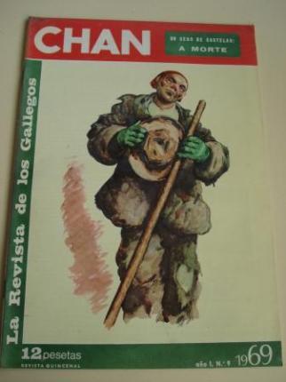 Revista CHAN. La Revista de los Gallegos. Revista Quincenal. II quincena de junio, 1969. Año I. Nº 9 - Ver os detalles do produto