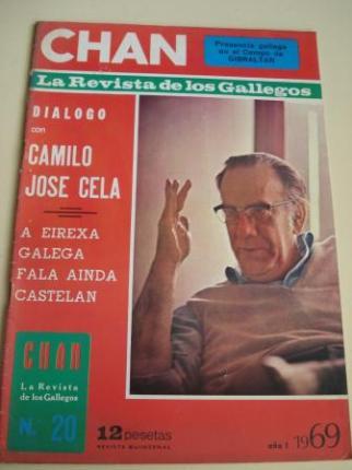 Revista CHAN. La Revista de los Gallegos. Revista Quincenal. II quincena de diciembre, 1969. Año I. Nº 20 - Ver os detalles do produto