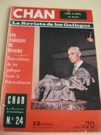 Revista CHAN. La Revista de los Gallegos. Revista Quincenal. I quincena de marzo, 1970. Año II. Nº 24 - Ver os detalles do produto