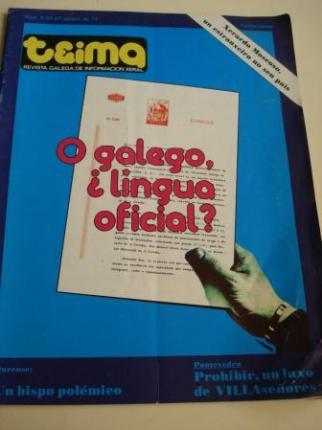 TEIMA. Revista galega de infromación xeral. Número 6. 20-27 de xaneiro, 1977 - Ver os detalles do produto