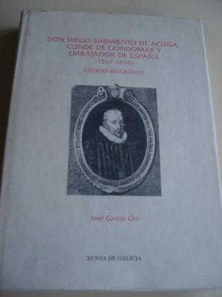 Don Diego Sarmiento de Acuña, Conde de Gondomar y Embajador de España (1567-1626). Estudio biográfico - Ver os detalles do produto