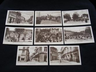 Lote de 8 tarxetas postais de Noia (Noya) / lote de 8 tarjetas postales de Noia (Noya) - Década de 1920 - Ver os detalles do produto