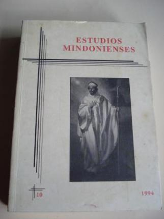 ESTUDIOS MINDONIENSES. NÚMERO 10 - 1994 - Anuario de Estudios Histórico-Teológicos de la Diócesis de Mondoñedo-Ferrol - Ver os detalles do produto
