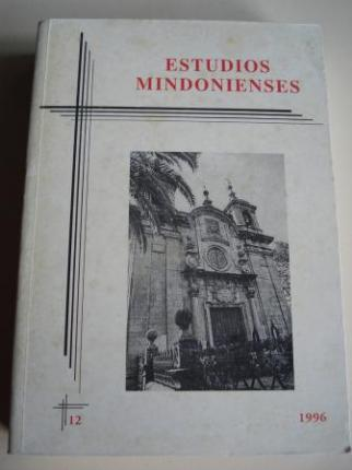 ESTUDIOS MINDONIENSES. NÚMERO 12 - 1996 - Anuario de Estudios Histórico-Teológicos de la Diócesis de Mondoñedo-Ferrol - Ver os detalles do produto