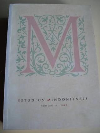 ESTUDIOS MINDONIENSES. NÚMERO 19 - 2003 - Anuario de Estudios Histórico-Teológicos de la Diócesis de Mondoñedo-Ferrol - Ver os detalles do produto