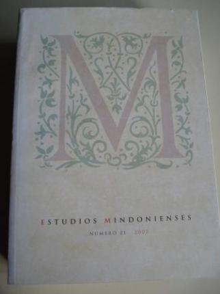 ESTUDIOS MINDONIENSES. NÚMERO 21 - 2005 - Anuario de Estudios Histórico-Teológicos de la Diócesis de Mondoñedo-Ferrol - Ver os detalles do produto