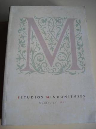 ESTUDIOS MINDONIENSES. NÚMERO 23 - 2007 - Anuario de Estudios Histórico-Teológicos de la Diócesis de Mondoñedo-Ferrol - Ver os detalles do produto