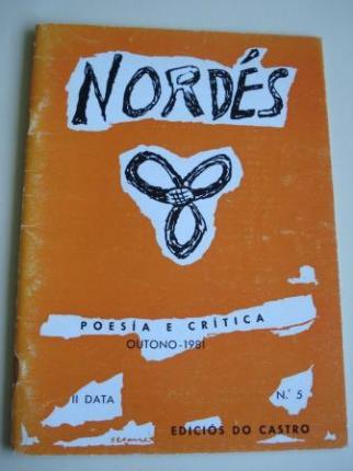 REVISTA NORDÉS. Poesía e Crítica. Número 5. Outono, 1981 - Ver os detalles do produto
