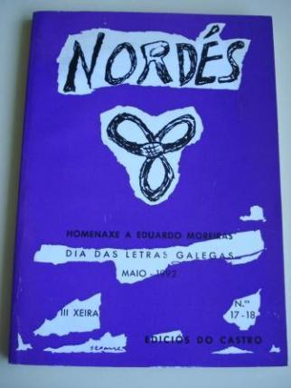 REVISTA NORDÉS. Poesía e Crítica. Números 17-18. Maio, 1992 - Ver os detalles do produto