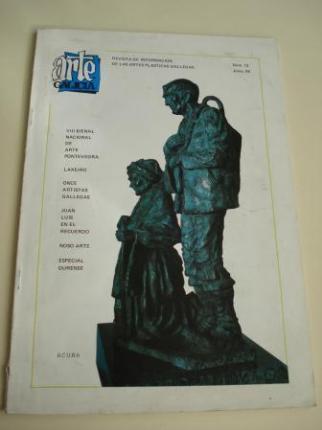 ARTE GALICIA. Revista de información de las artes plásticas gallegas. Número 13 - Junio 1985 - Ver os detalles do produto