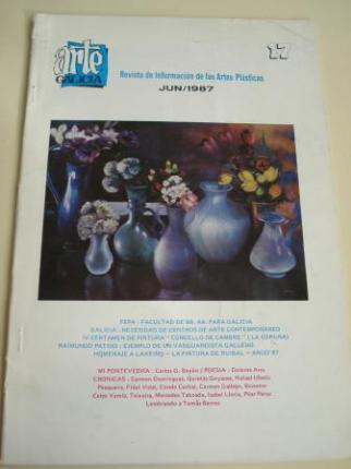 ARTE GALICIA. Revista de información de las artes plásticas gallegas. Número 17 - Junio 1987 - Ver os detalles do produto