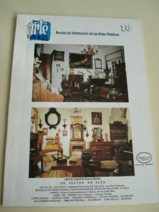 ARTE GALICIA. Revista de información de las artes plásticas gallegas. Número 18 - Diciembre 1987 - Ver os detalles do produto