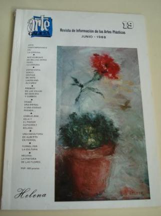 ARTE GALICIA. Revista de información de las artes plásticas gallegas. Número 19 - Junio 1988 - Ver os detalles do produto