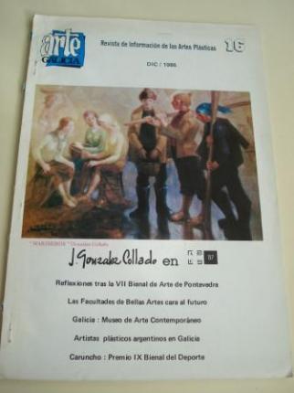 ARTE GALICIA. Revista de información de las artes plásticas gallegas. Número 16 - Diciembre 1986 - Ver os detalles do produto