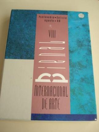 VIII BIENAL INTERNACIONAL DE ARTE. Catálogo. Pontevedra, agosto, 1988. 2 libros en estoxo  - Ver os detalles do produto