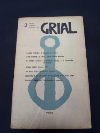 GRIAL. Revista Galega de Cultura. Número 2. Outubro, Novembro, Decembro, 1963 - Ver os detalles do produto