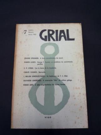 GRIAL. Revista Galega de Cultura. Número 7. Xaneiro, febreiro, marzo 1965 (Carlos Casares: Narraciós) - Ver os detalles do produto