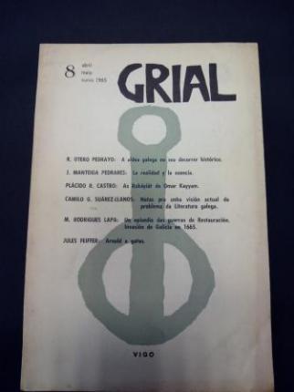 GRIAL. Revista Galega de Cultura. Número 8. Abril, maio, xuño, 1965 - Ver os detalles do produto