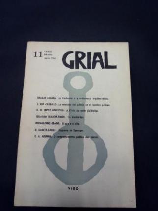 GRIAL. Revista Galega de Cultura. Número 11. Xaneiro, febreiro, marzo 1966 - Ver os detalles do produto