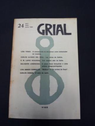 GRIAL. Revista Galega de Cultura. Número 24. Abril, maio, xuño, 1969 (Amado Carballo, Luis: Maliaxe - Os probes de Deus) - Ver os detalles do produto