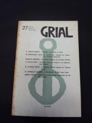 GRIAL. Revista Galega de Cultura. Número 27. Xaneiro, febreiro, marzo 1970 - Ver os detalles do produto
