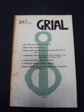 GRIAL. Revista Galega de Cultura. Número 28. Abril, maio, xuño, 1970 - Ver os detalles do produto